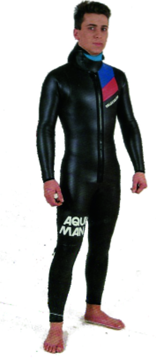 First Overall AQUAMAN Triathlon Wetsuit 1984